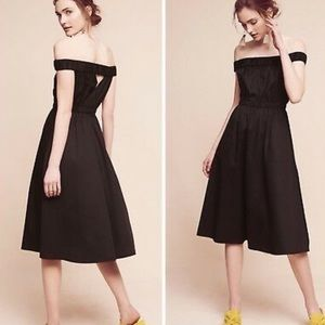 Maeve (from Anthropologie) black dress